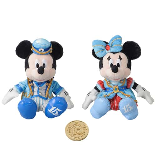 Mickey & Minnie Doll Set Collection ¥10,000 Available from October 4 Please Note: Limited to 3 Per Person