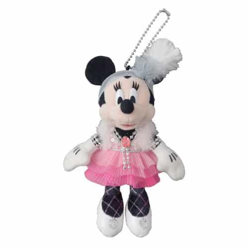 Minnie Stuffed Badge ¥1,900