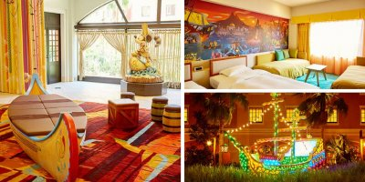 "Photos of the Tokyo Disney Celebration Hotel ""Discover"""