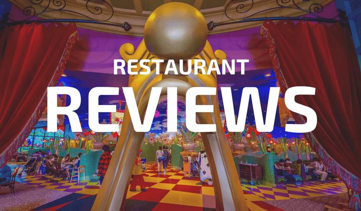 Restaurant Reviews Tokyo Disneyland DisneySea