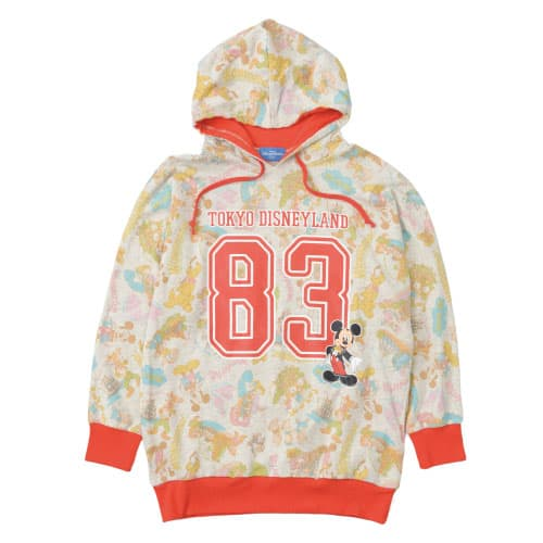 Tokyo Disneyland Hoodie ¥4,900 Sizes: S, M, L, LL Available from October 3 at Town Center Fashions