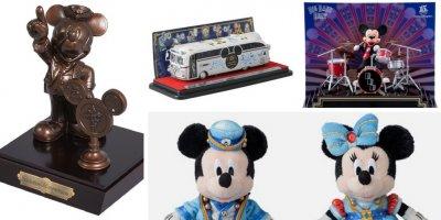 Tokyo DisneySea 15th Anniversary Merchandise Update