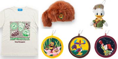 Camp Woodchuck Merchandise at Tokyo Disneyland