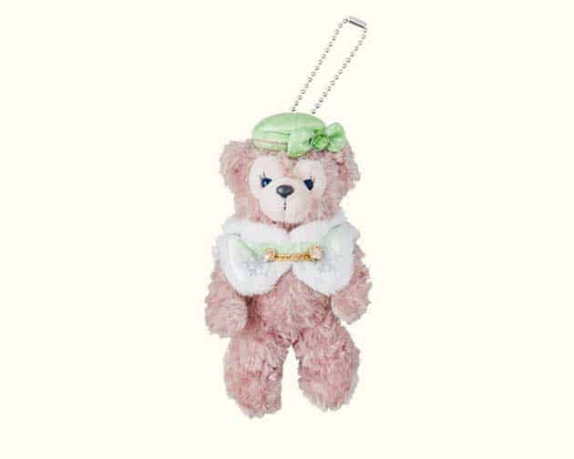 ShellieMay Stuffed Badge ¥1,800 (Costume is from the Colors of Christmas Night-Time Harbor Show that starts November 8)