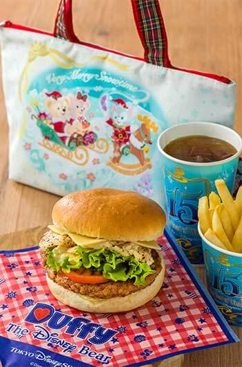 Special Meal Set with Souvenir Lunch Case ¥1,950 Meal only ¥990 Includes Beef and Back Pepper Chricken Burger Fries Soft Drink