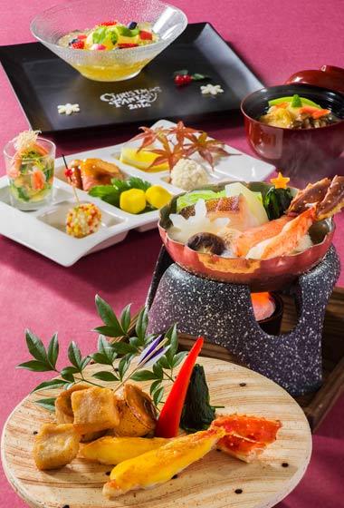 Restaurant Hana Gourd Dinner Set ¥10,000