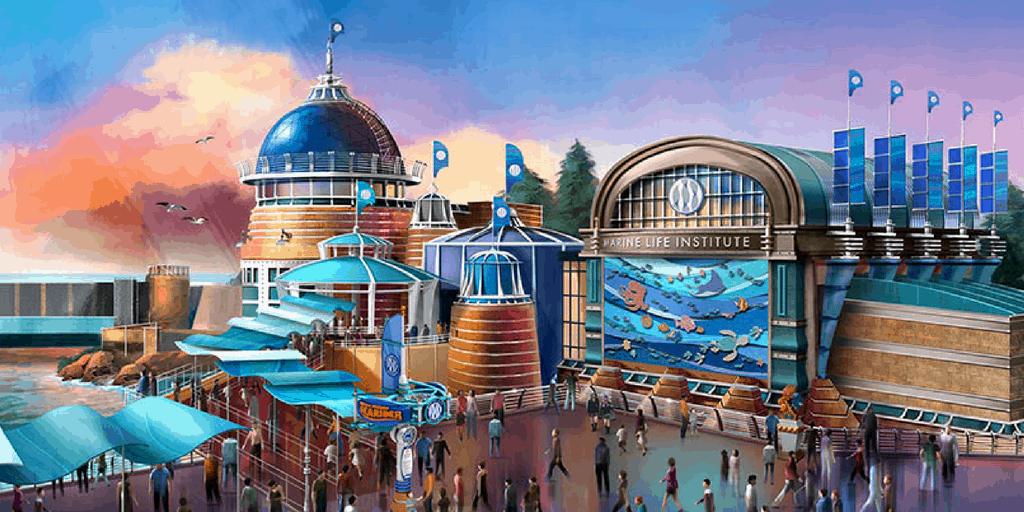 Nemo & Friends SeaRider Opens May 2017 at Tokyo DisneySea