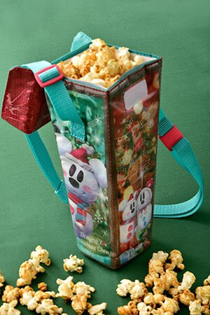 Regular Popcorn Box, with Souvenir Case¥1,200 Available from the Popcorn Wagon (The Gazebo) This product will also be on sale at the Popcorn Wagon (Lilo Isle), Tokyo DisneySea