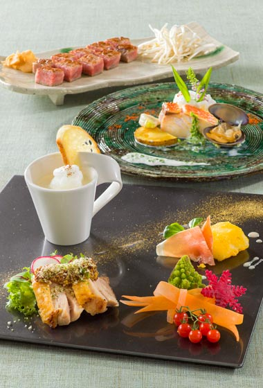 Restaurant Hana Teppanyaki Lunch Set ¥4,900