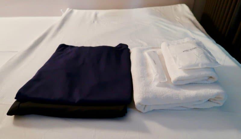 room-wear-first-cabin-haneda-capsule-hotel