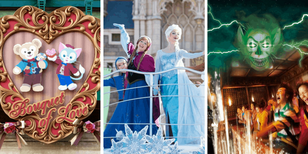 Sweet Duffy, Frozen Fantasy, & Tower of Terror: Level 13 Return to Tokyo Disney Resort for Winter 2017