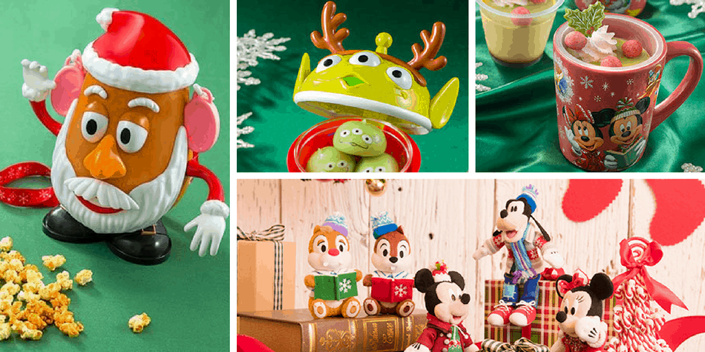 Christmas Fantasy 2016 Merchandise and Food at Tokyo Disneyland