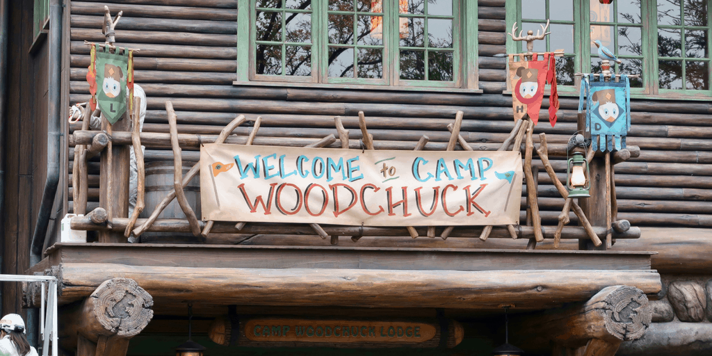 21 Exterior Photos of Camp Woodchuck at Tokyo Disneyland