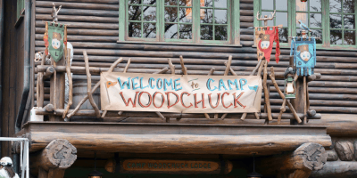 Photos of the Soft Launch for Camp Woodchuck at Tokyo Disneyland