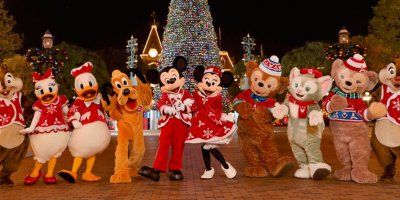 "Details for ""A Sparkling Christmas"" at Hong Kong Disneyland"