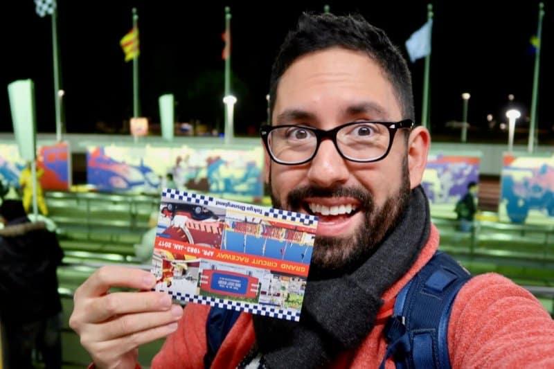 Grand Circuit Raceway Certificate