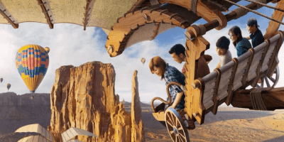 Construction of Soarin' at Tokyo DisneySea Begins