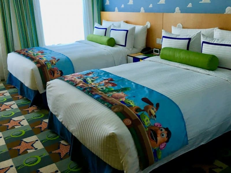 Beds Toy Story Hotel Shanghai Disneyland