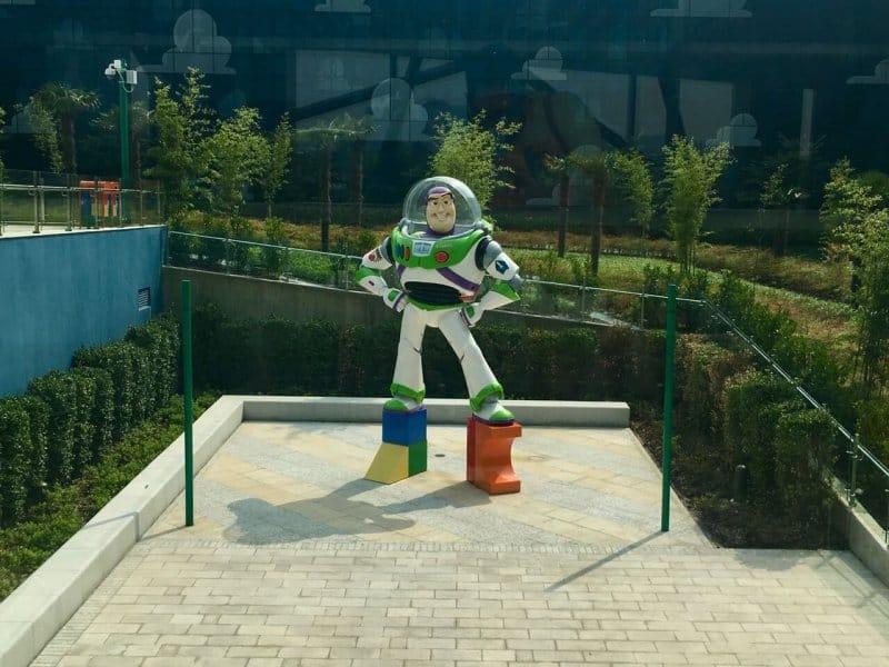 Buzz Statue Toy Story Hotel Shanghai Disneyland