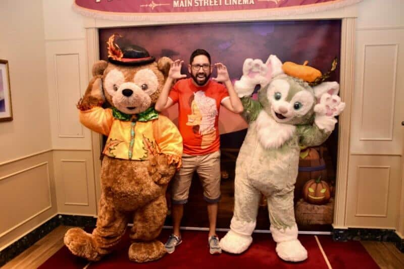 Chris Duffy Gelatoni Hong Kong Disneyland