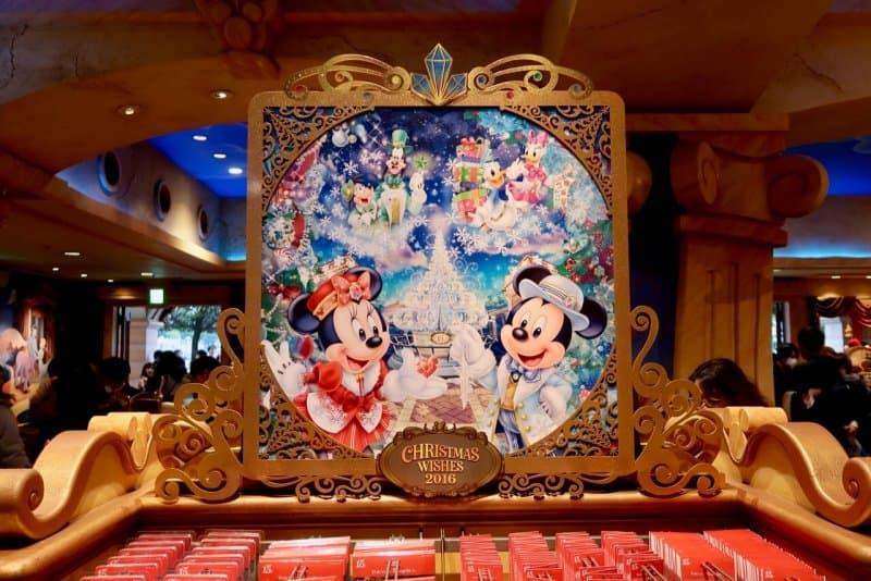 Christmas Wishes Sign Tokyo DisneySea Christmas 2016