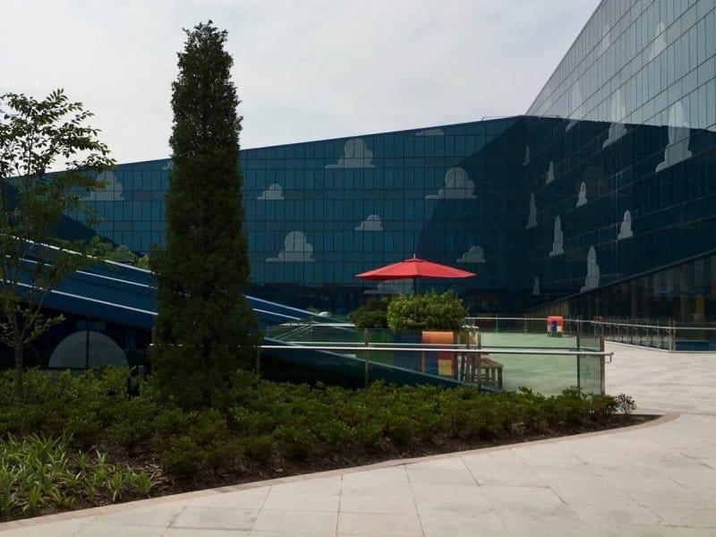 Court Yard Toy Story Hotel Shanghai Disneyland