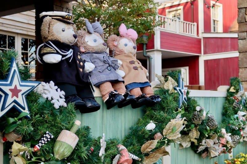 Duffy and ShellieMay Tokyo DisneySea Christmas 2016