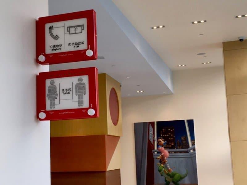 Hallway Decor Toy Story Hotel Shanghai Disneyland