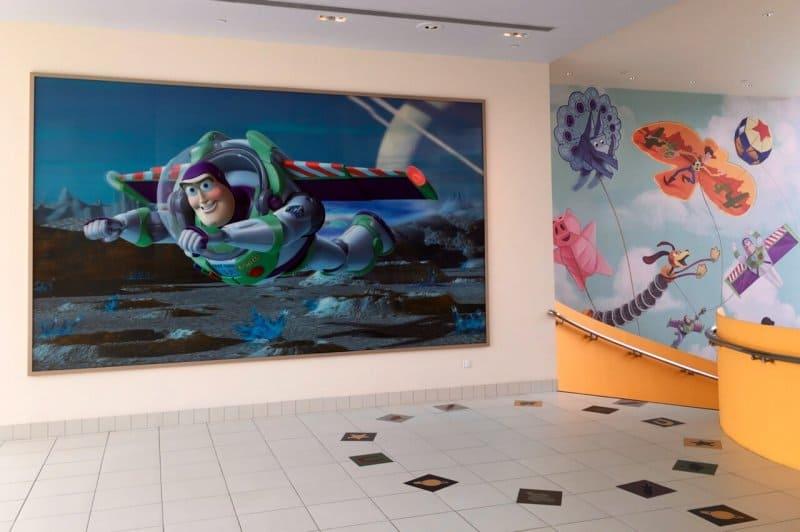 Hallways Toy Story Hotel Shanghai Disneyland