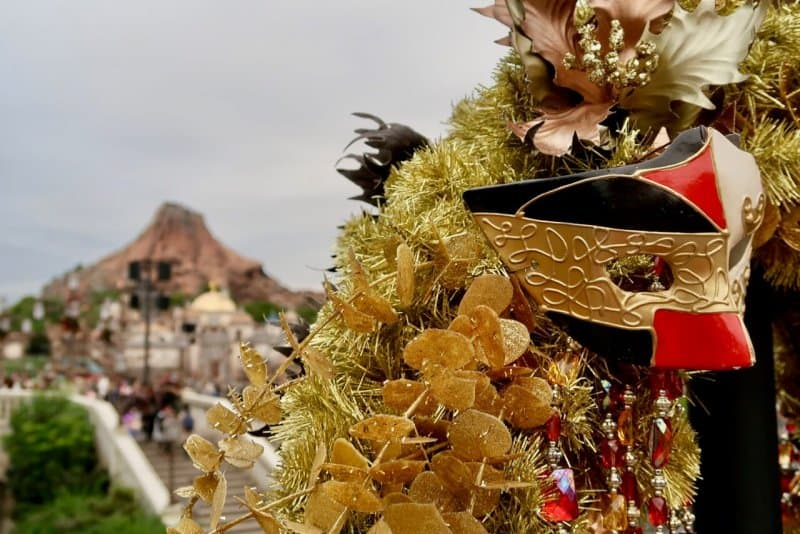 Harbor Mask Tokyo DisneySea Christmas 2016