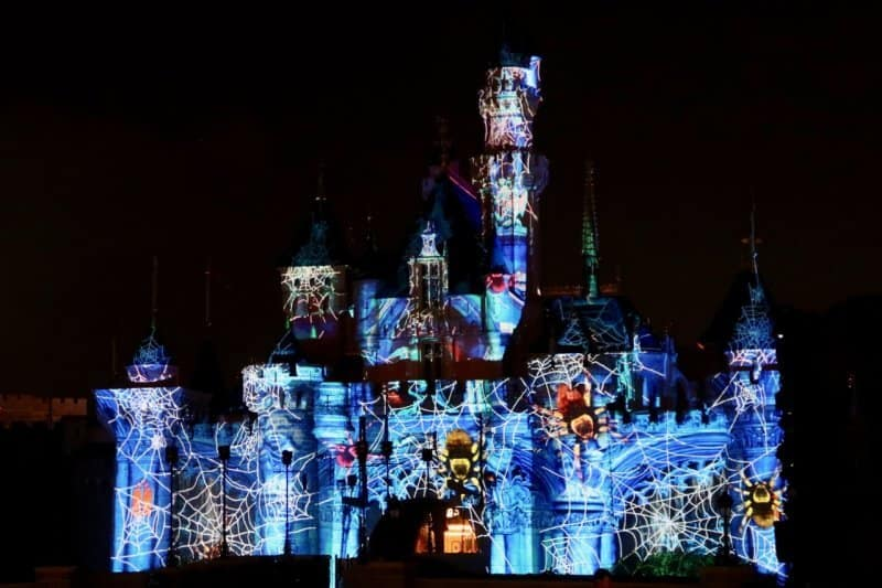 Sleeping Beauty Castle Halloween