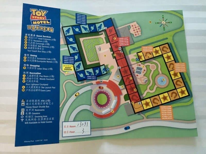 Hotel Map Toy Story Hotel Shanghai Disneyland