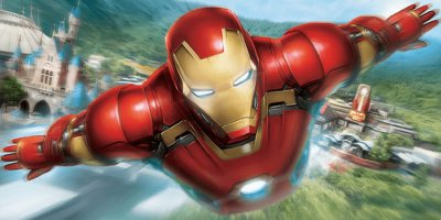"Magic Access Members Preview for ""Iron Man Experience"" at Hong Kong Disneyland"