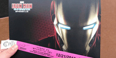 Photos Inside the Iron Man Experience During the Magic Access Preview at Hong Kong Disneyland
