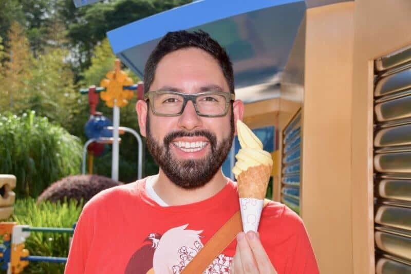 Mango Dole Whip Hong Kong Disneyland