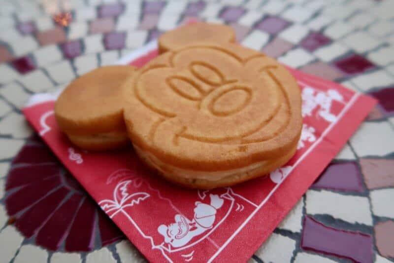 Mickey's Castella Cake Captain Hook's Galley Tokyo Disneyland