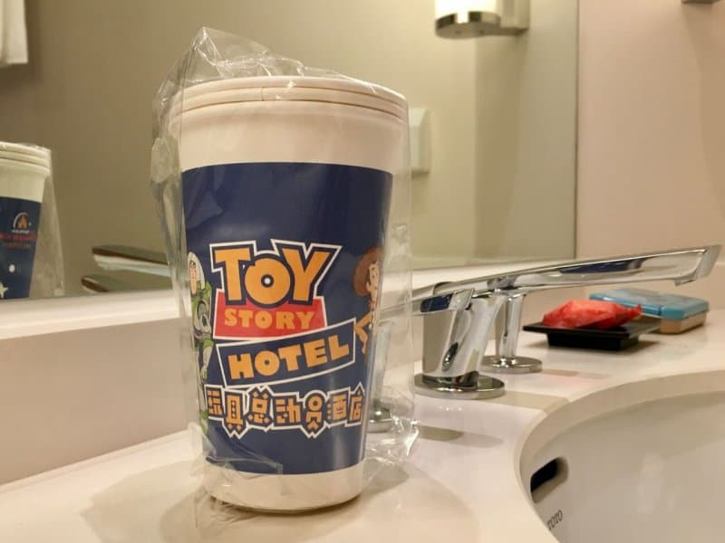 Paper Cups Toy Story Hotel Shanghai Disneyland