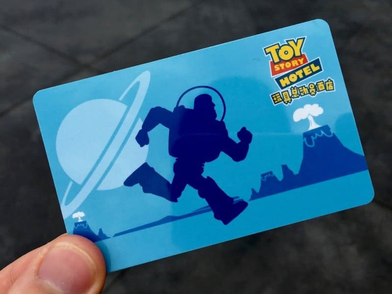 Room Key Buzz Lightyear Toy Story Hotel Shanghai Disneyland