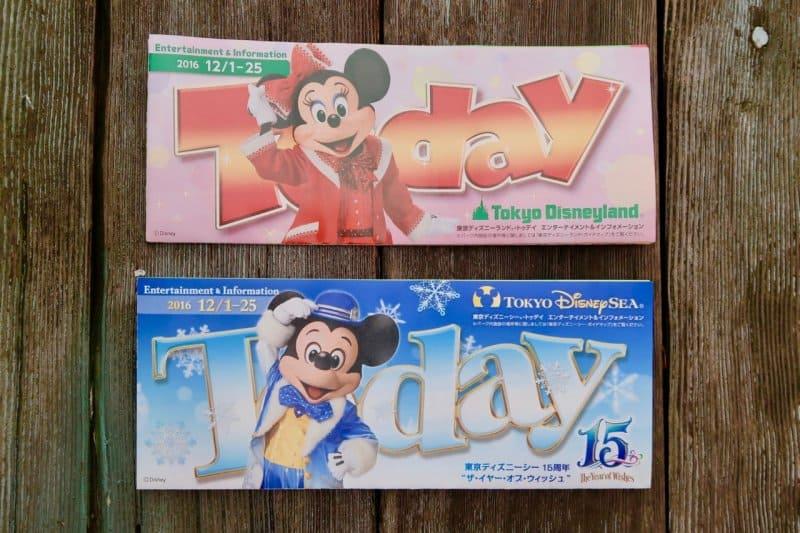 Today Guide Tokyo DisneySea Disneyland