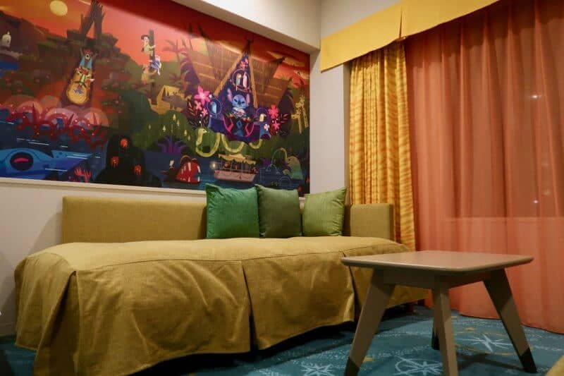 Tokyo Disney Celebration Hotel Day Bed