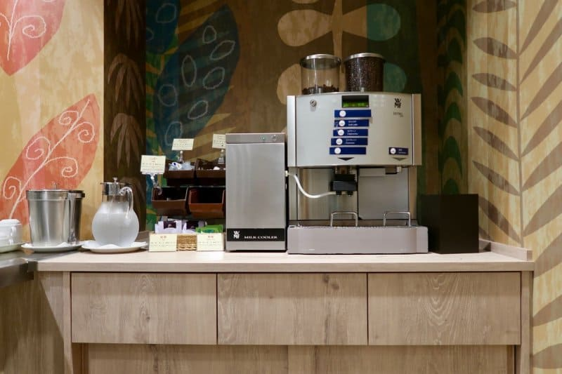 Tokyo Disney Celebration Hotel Discover Cafe Coffee Machine