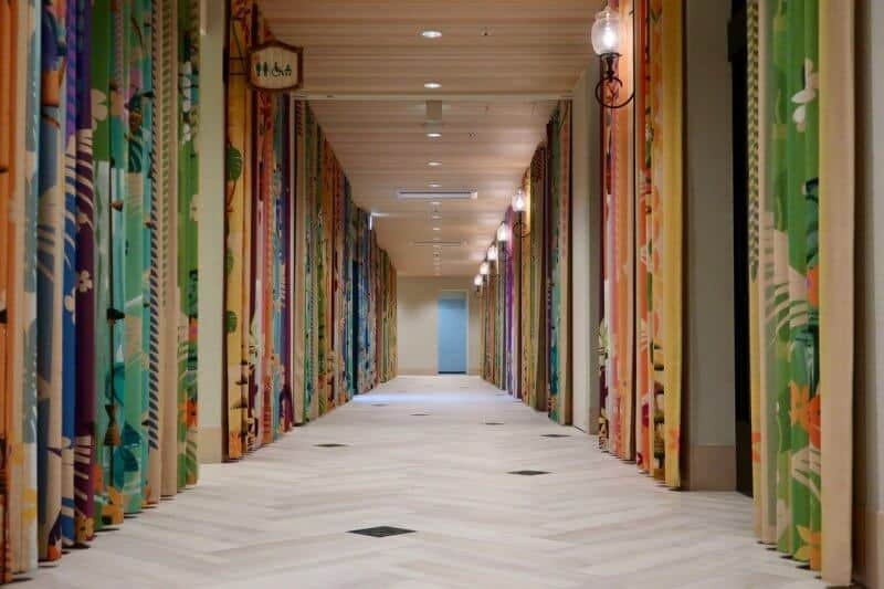 Tokyo Disney Celebration Hotel Discover Hallway