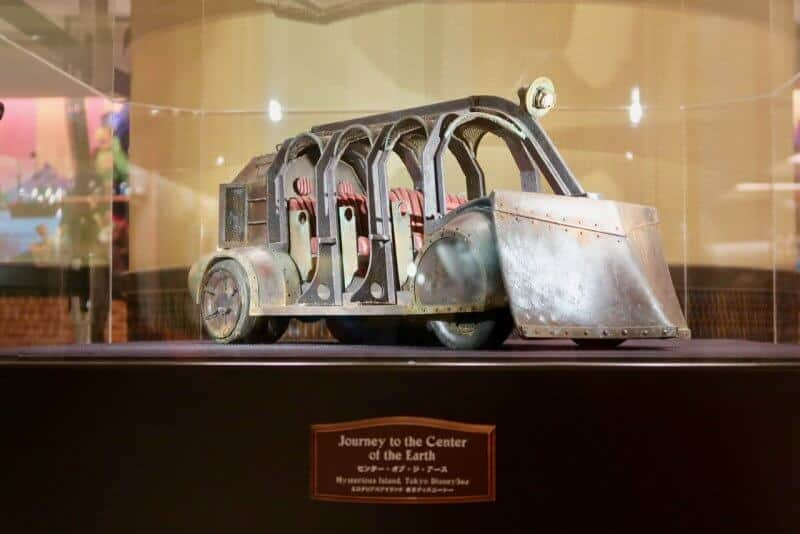 Tokyo Disney Celebration Hotel Discover Journey to the Center of the Earth Ride Vehicle