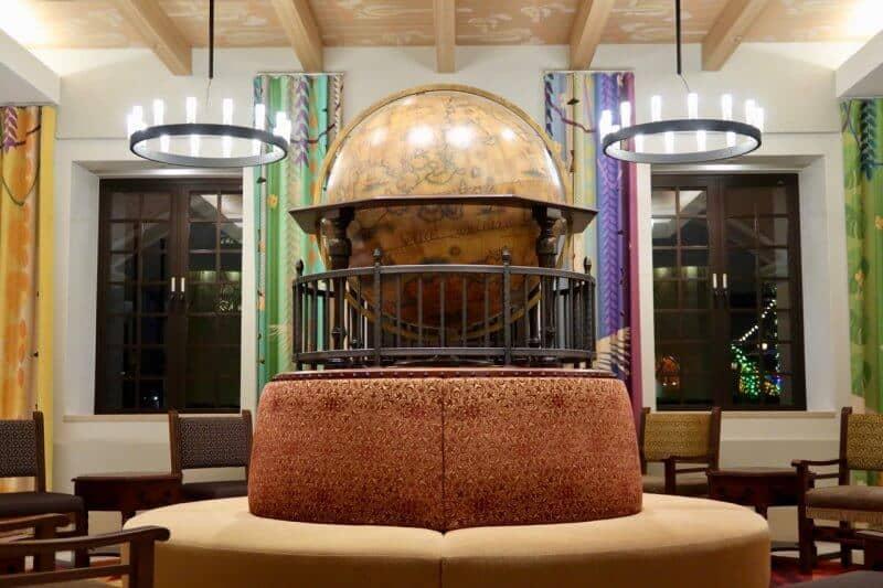 Tokyo Disney Celebration Hotel Discover Lobby Magellans Globe