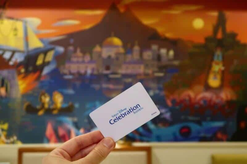 Tokyo Disney Celebration Hotel Discover Room Key