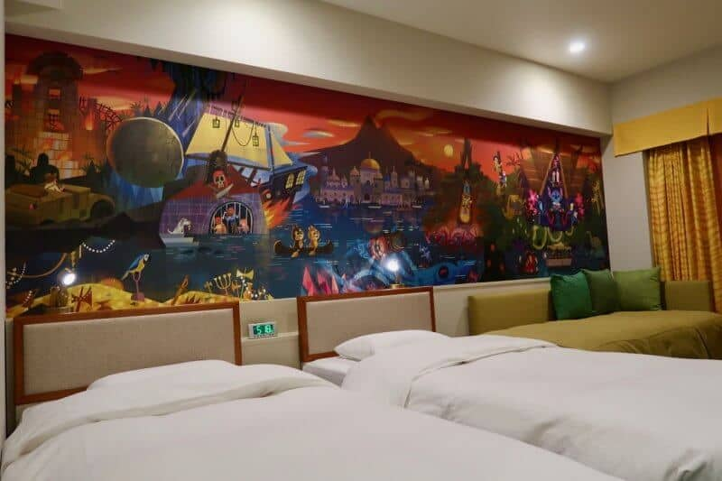 Tokyo Disney Celebration Hotel Discover Room Wall Mural