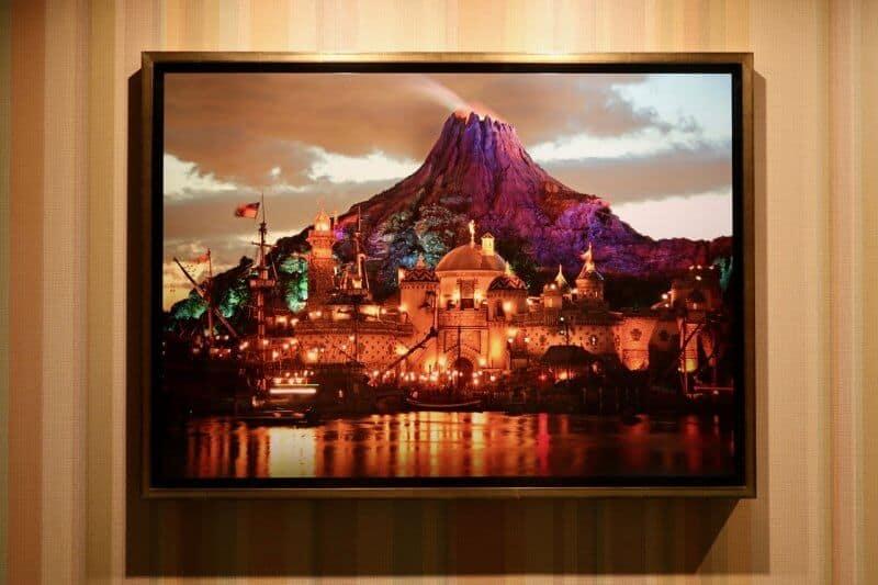 Tokyo Disney Celebration Hotel Mount Promethus Portrait