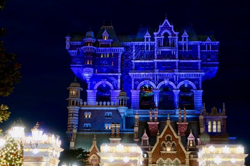 Tower of Terror Christmas Wishes Tokyo DisneySea 2016