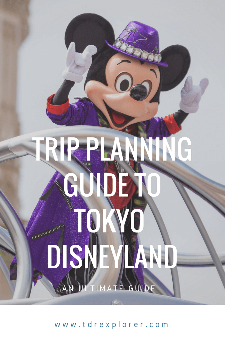 Ultimate Trip Planning Guide to Tokyo Disneyland DisneySea Pinterest