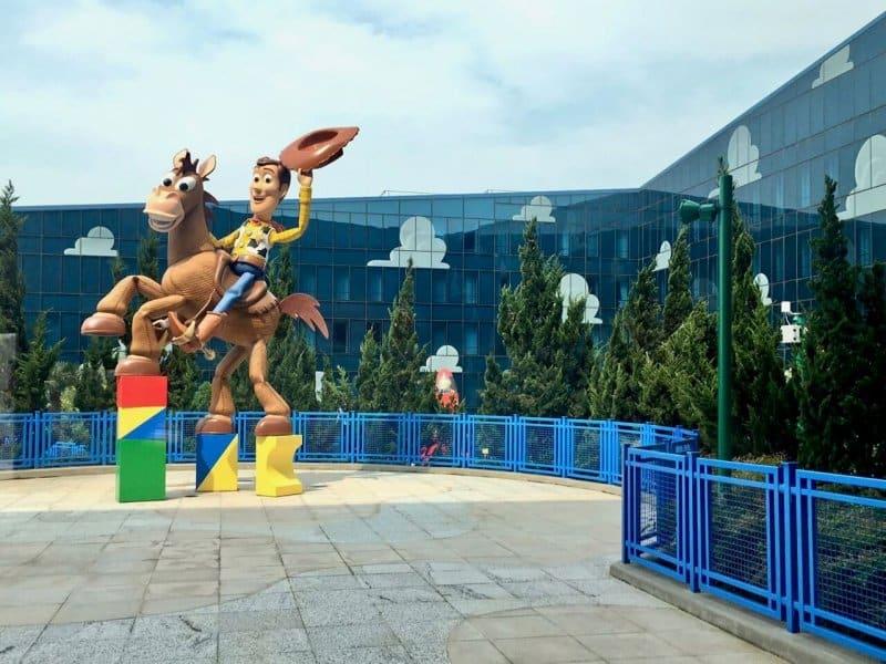 Woody Statue Toy Story Hotel Shanghai Disneyland